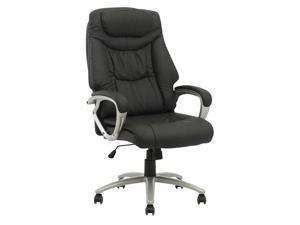 BestChair OC-2913 High Back Executive Leather Ergonomic Office Computer Task Chair with Metal Base