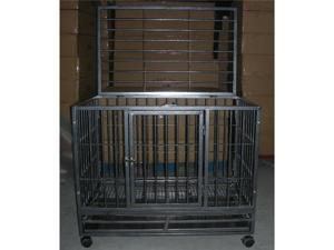 "36"" Heavy Duty Dog Pet Cat Bird Crate Cage Kennel HB"