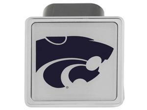 "Kansas State K-State Football Logo Metal Hitch Cover 2"" Hitch Receiver"