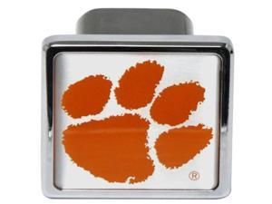 "Clemson Tigers Football Logo University Metal Hitch Cover 2"" Hitch Receiver"