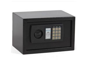 0.3CF Electronic Digital Lock Keypad Safe Box Home Security Gun Cash Jewel Black