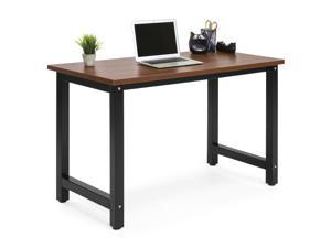 Best Choice Products Large Modern Computer Table Writing Desk Workstation  For Home ...