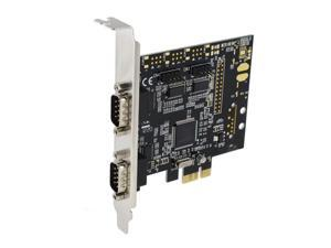 SEDNA - PCI Express 4 Port Serial RS232 Adapter Card -MosChip MCS9904CV