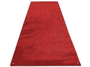 Outdoor Turf Wedding Aisle Runner - Red - Many Other Sizes to Choose From