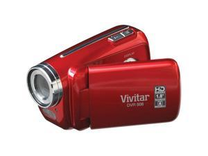 Vivitar DVR 508HD Digital Video Recorder (Strawberry Red)