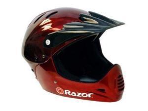 Razor Full Face Youth Helmet (Black Cherry)