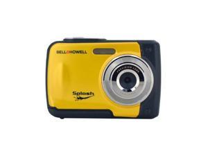 Bell+Howell 12MP Waterproof Digital Camera (Yellow)