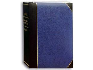 Pioneer Photo Albums JBT46-NAB Ledger LE Memo Album 4X6 3-UP 300 Photo Navy Blue