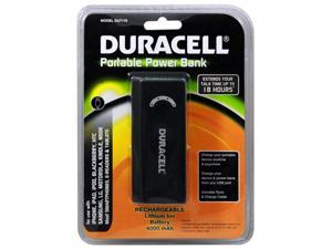 DURACELL Portable Power Bank & AC Charger (4000 Mah) Battery Charger for use with iPhone, iPad, iPod, BlackBerry, Samsung, ...
