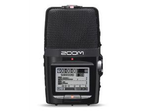 Zoom H2N Handy Recorder Digital Audio Handheld Musicians Recording Device With 4 GB SD Secure Digital Memory Card & 4 AA ...