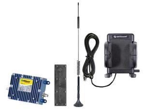 Wilson Electronics 801212 Cell Phone Signal Booster Kit for Vehicles + Wilson 301146 Phone Cradle with Dual Band Antenna