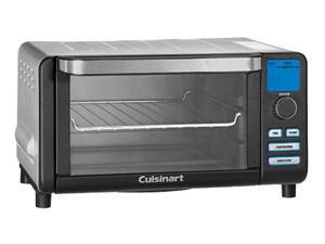 Cuisinart TOB100BW Compact Digital Toaster Oven Broiler