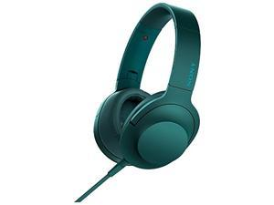 Sony H.ear High-Resolution Over-The-Ear Headphones (Viridian Blue)