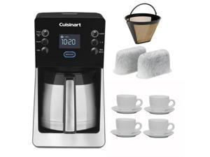 Cuisinart Perfectemp 12-Cup Thermal Programmable Coffeemaker Kit with 2-Pack of Cuisinart Replacement Water Filters + Cuisinart ...