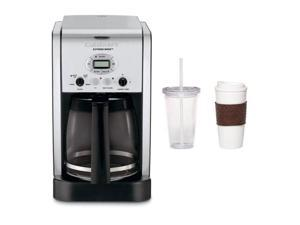 Cuisinart DCC-2650 Extreme Brew 12-Cup Programmable Coffeemaker + 2-Pack Coffee Mug & Iced Beverage Cup