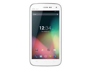 BLU Studio 5.0 II Unlocked Dual SIM Phone with Dual-Core 1.3GHz Processor, Android 4.2 JB, 4G HSPA+ and 5MP Camera - White ... - OEM