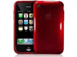 iSkin SOLO3G-RD Solo Protector for Iphone 3GS Red