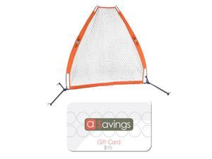 Bow Net BOWPS Portable Pitching Screen (7x7 feet) with $15 aSavings Camera Gift Card