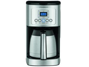Cuisinart DCC-3400 12-Cup Thermal Carafe with Stainless Steel Handle Programmable Coffeemaker, Silver