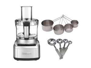 Cuisinart FP-8SV Elemental 8 Food Processor w/ Bundle (Silver)