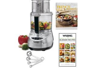 Cuisinart 11-Cup Food Processor w/ 2 Cookbooks & Measuring Spoon Set
