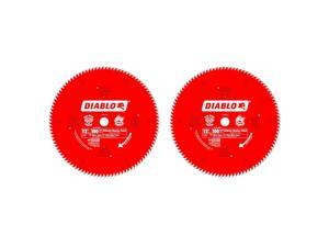 Freud D12100X 100 Tooth Diablo Ultra Fine Circular Saw Blade for Wood (2 Pack)