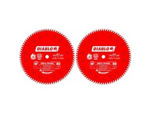 Freud D1080X Diablo 10-Inch 80-tooth with 5/8-Inch Arbor Saw Blade (2 Pack)