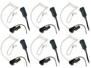 Midland AVPH3 GMRS/FRS Radios Headset Six Transparent Behind-the-Ear Microphone