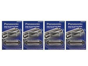 Panasonic WES9013PC Replacement Foil / Blade Combo For ES8103S / ES-GA21S / ES8109S / ESLT71S (4 Pack)
