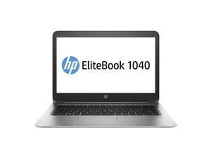 "HP EliteBook 1040 G3 (V1P93UT#ABA) Ultrabook Intel Core i5 6300U (2.40 GHz) 256 GB SSD Intel HD Graphics 520 Shared memory 14"" Touchscreen Windows 10 Pro 64-Bit"
