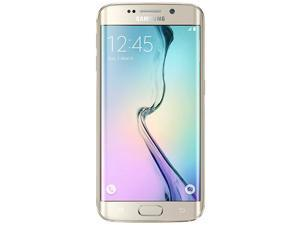 Galaxy S6 EDGE 32GB / SM-G925i Gold Platinum (International Model) Unlocked GSM Mobile Phone