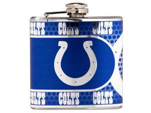 Great American Products Indianapolis Colts Flask Stainless Steel 6 oz. Flask