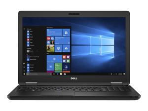 "DELL Laptop Latitude 5580 (PXP7J) Intel Core i5 7th Gen 7200U (2.50 GHz) 4 GB Memory 500 GB HDD Intel HD Graphics 620 15.6"" Windows 10 Pro 64-Bit"
