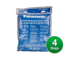 Genuine Panasonic Type C-19 / MC-V295H Vacuum Cleaner Bags - HEPA 4Bags
