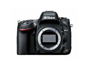 Nikon D600 24.3 MP CMOS FX-Format Digital SLR Camera (Body Only) (Black)