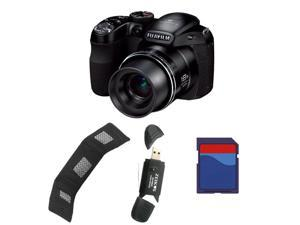 FujiFilm FinePix S2980 HD Digital Bridge Camera Including: 8 GB Memory Card, Memory Card Reader, Memory Card Wallet