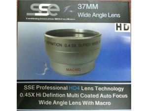 Sunset Electronics - SSE - 37mm Wide Angle Lens (0.45X) 1337W-SSE - Exclusive Edition