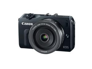 Canon EOS-M Mirrorless Digital Camera with EF-M 18-55mm f/3.5-5.6 IS STM Lens