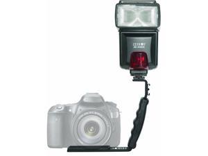 Zeikos - Professional Right Angle Bracket Fits Most Camera's, and Flashes (ZE-BRK12/ZEBRK12)
