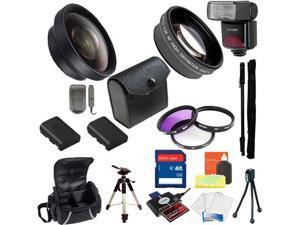 Advanced Accessory Kit For Canon T2i / T3i / T4i  (58mm)