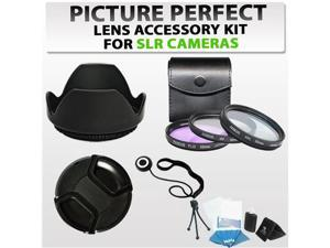 58MM Professional Accessory Kit for CANON EOS REBEL DSLR (SL1 T5i T4i T3i T3 T2i T1i XT XTi XSi 1D 5D 6D 60D 7D) By: Sunset ...