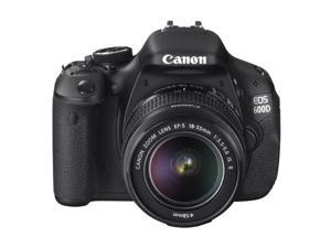 Canon EOS 600D / T3i Digital Camera Kit with 18-55mm EF-S IS II Lens