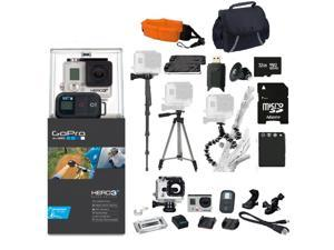 GoPro HERO3+ Black Edition Camera Kit | CHDHX-302