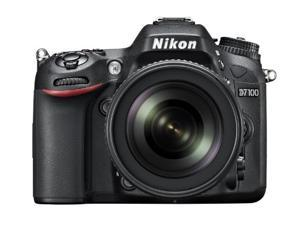 Nikon D7100 (1513) Black Digital SLR Camera with 18-55mm VR Lens