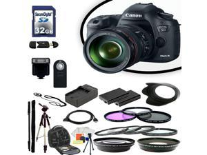 Canon EOS 5D III Digital SLR Camera With 24-105mm Lens & Ultimate Accessory Bundle