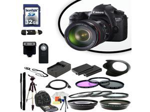 Canon EOS 6D Digital SLR Camera With 24-105mm Lens & Ultimate Accessory Bundle
