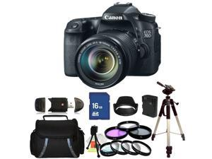 Canon EOS 70D DSLR Camera with 18-135mm STM f/3.5-5.6 Lens - Kit 2