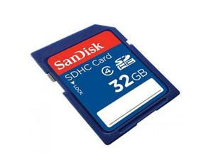 SanDisk 32GB SDHC Flash Memroy Card Secure Digital High Capacity Model SDSDB-032G-B35