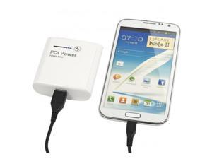 PQI i-Power 105 Light Portable Battery Power Bank Charger for Apple iPhone 4 and older. 1050mAh Model 6PP1-011R0001A