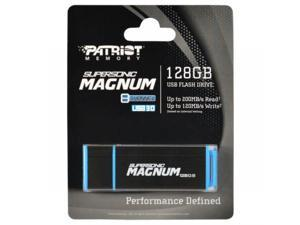 Patriot 128GB Supersonic Magnum USB 3.0 Flash Drive Super Speed 250MB/s. Model PEF128GSMNUSB